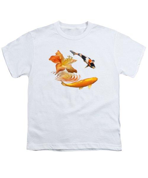 Koi With Azalea Ripples Youth T-Shirt