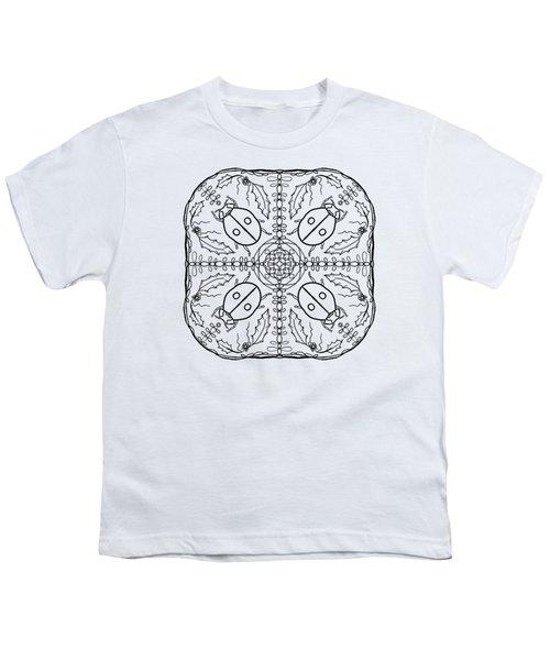 Ladybug Mandala Youth T-Shirt