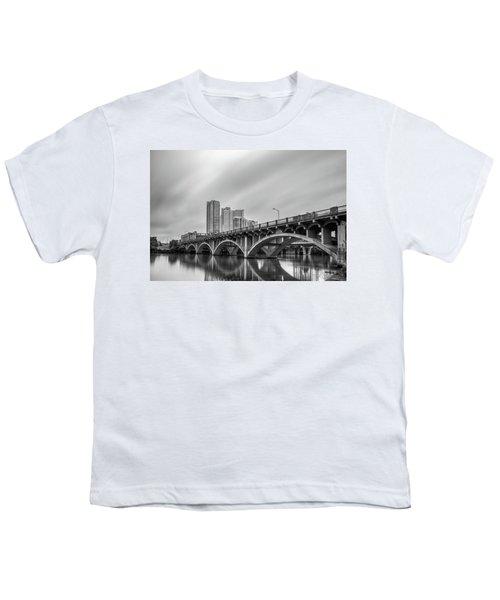 Lamar Bridge In Austin, Texas Youth T-Shirt