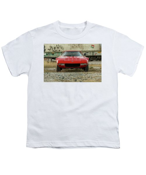 Lancia Stratos Hf Stradale Youth T-Shirt