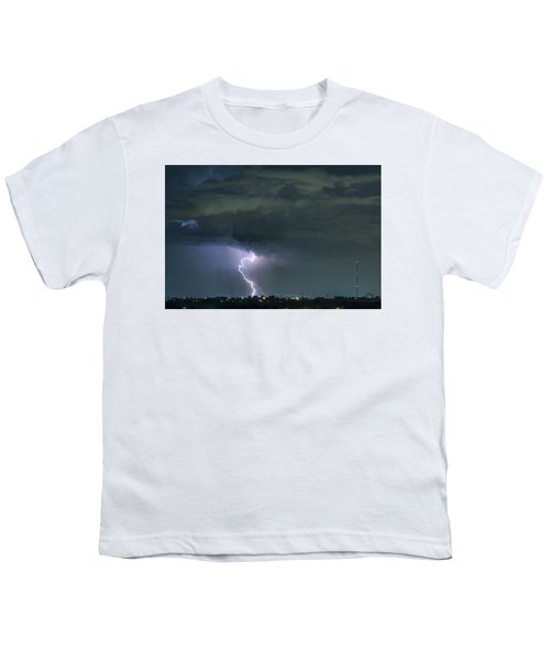 Youth T-Shirt featuring the photograph Landing In A Storm by James BO Insogna