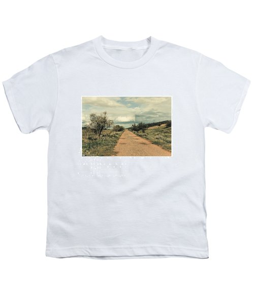 #landscape #stausee #path #road #tree Youth T-Shirt