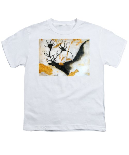 Lascaux Megaceros Deer 2 Youth T-Shirt