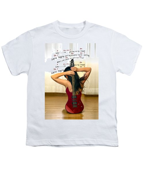 Layla Youth T-Shirt by Donovan Torres