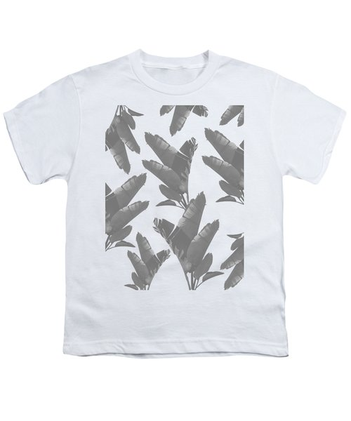 Leaf Pattern Youth T-Shirt