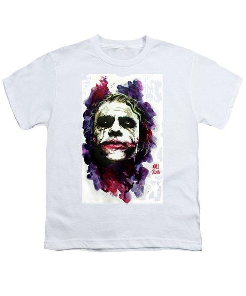 Ledgerjoker Youth T-Shirt by Ken Meyer jr