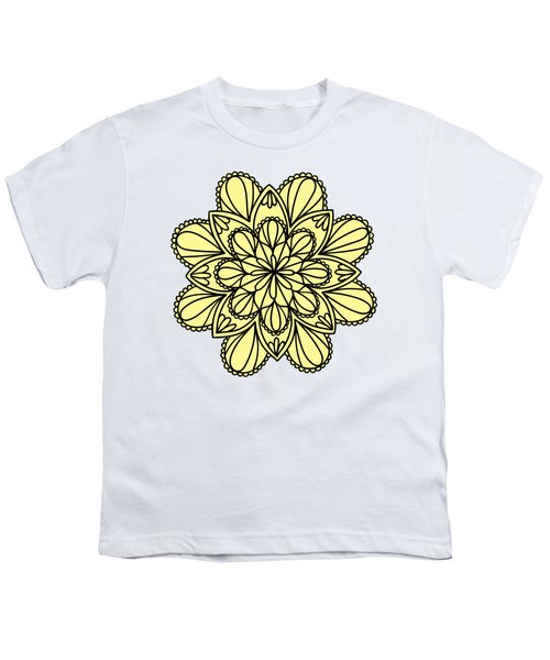 Lemon Lily Mandala Youth T-Shirt