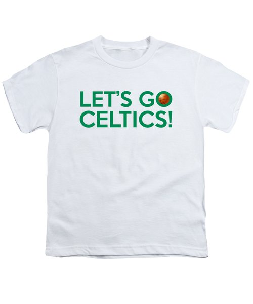 Let's Go Celtics Youth T-Shirt