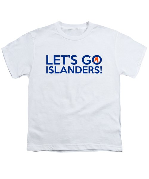 Let's Go Islanders Youth T-Shirt by Florian Rodarte
