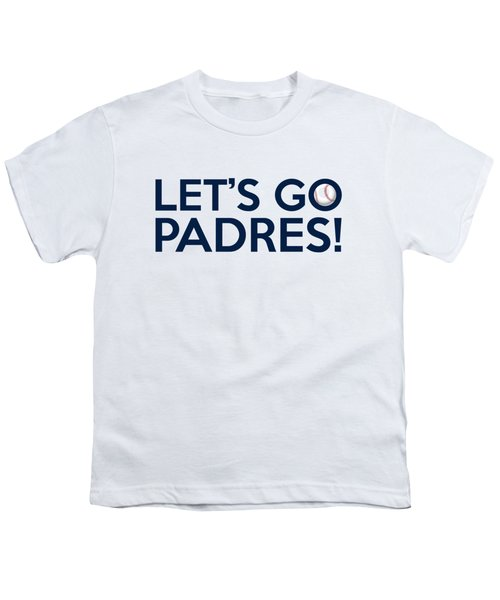 Let's Go Padres Youth T-Shirt