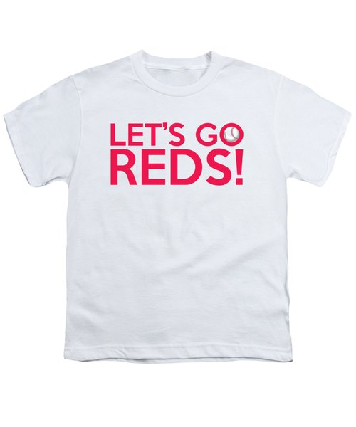 Let's Go Reds Youth T-Shirt
