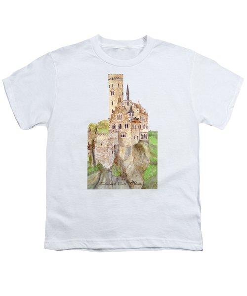 Lichtenstein Castle Youth T-Shirt