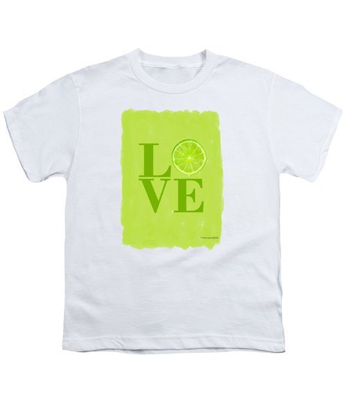 Lime Youth T-Shirt by Mark Rogan