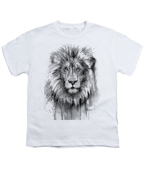 Lion Watercolor  Youth T-Shirt