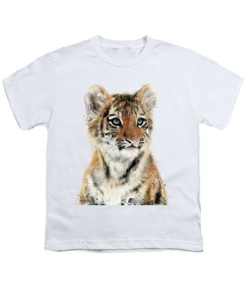 Little Tiger Youth T-Shirt by Amy Hamilton