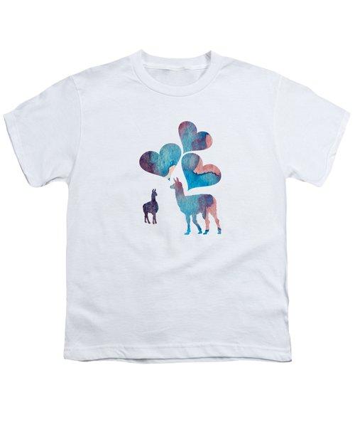 Llama Art Youth T-Shirt