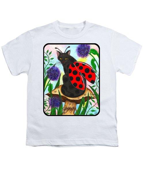 Logan Ladybug Fairy Cat Youth T-Shirt