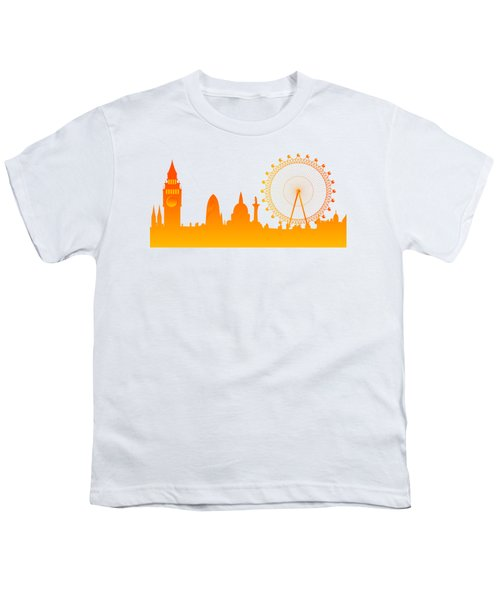 London City Skyline Youth T-Shirt