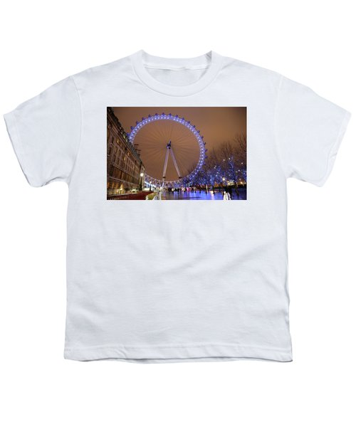 Youth T-Shirt featuring the photograph Big Wheel by David Chandler