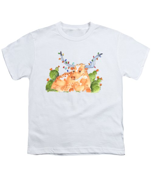 Longhorn Christmas Youth T-Shirt