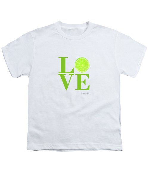 Love Lime Youth T-Shirt