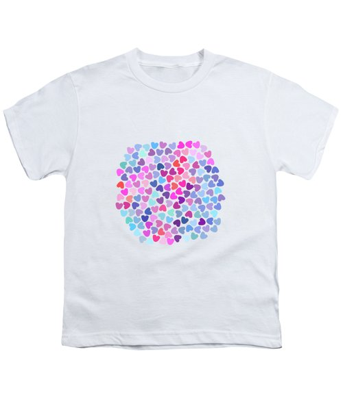 Love Love Love Youth T-Shirt by Amir Faysal