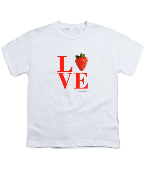 Love Strawberry Youth T-Shirt