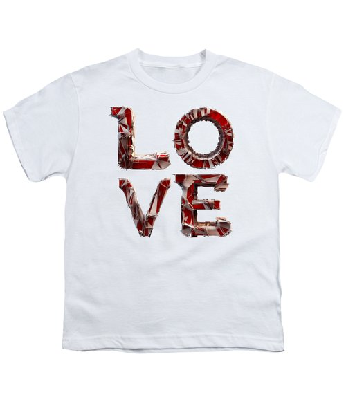 Youth T-Shirt featuring the photograph Love You To Death by Gary Keesler