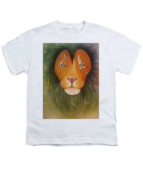 Lovelylion Youth T-Shirt by Anne Sue