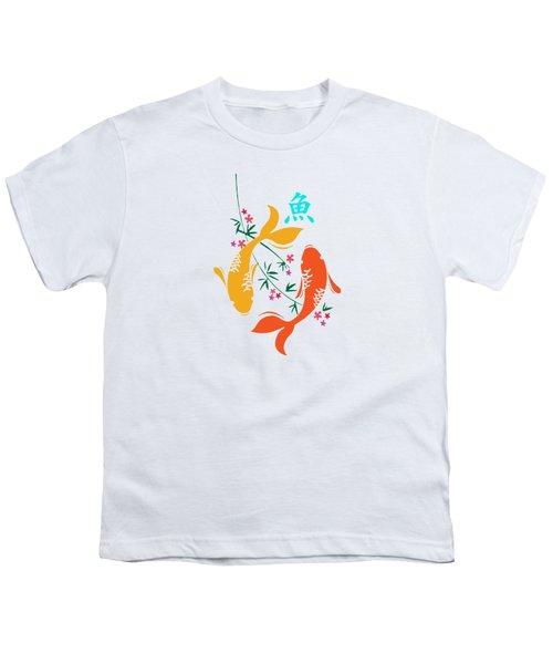 Lucky Koi Fish Youth T-Shirt