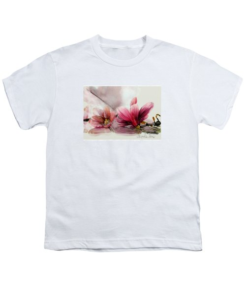 Magnolien .... Youth T-Shirt by Jacqueline Schreiber