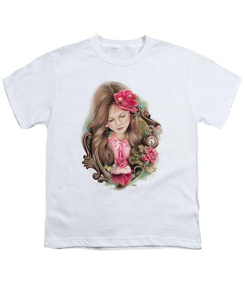 Make A Wish  Youth T-Shirt by Sheena Pike