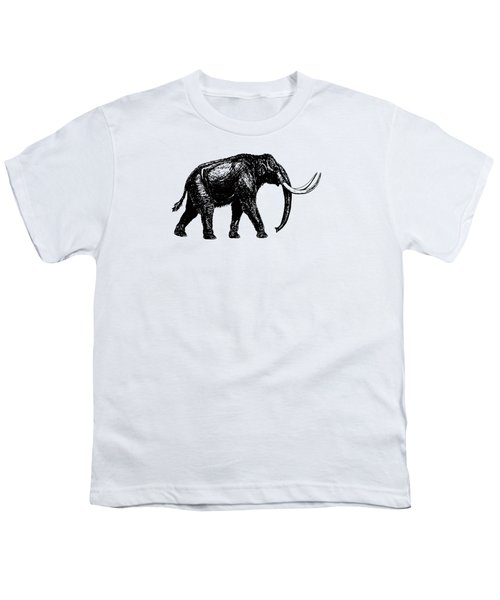 Mammoth Tee Youth T-Shirt by Edward Fielding