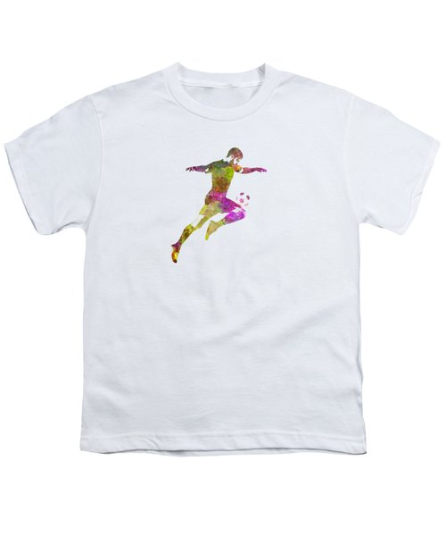 Man Soccer Football Player 12 Youth T-Shirt by Pablo Romero