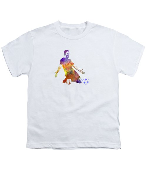 Man Soccer Football Player 13 Youth T-Shirt