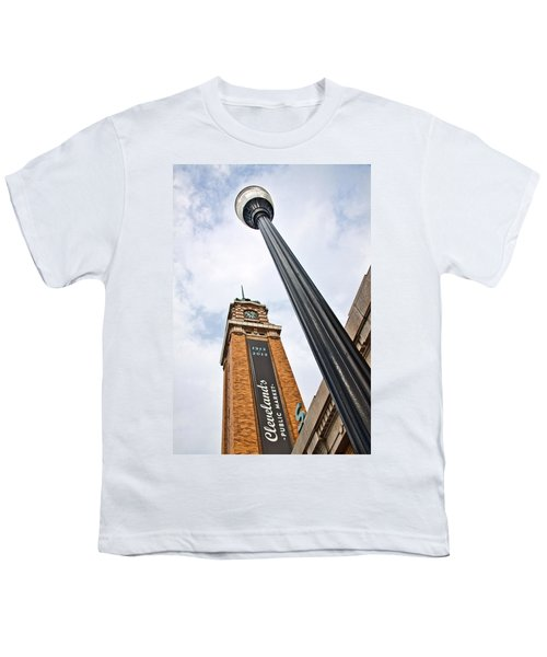 Market Clock Tower Youth T-Shirt