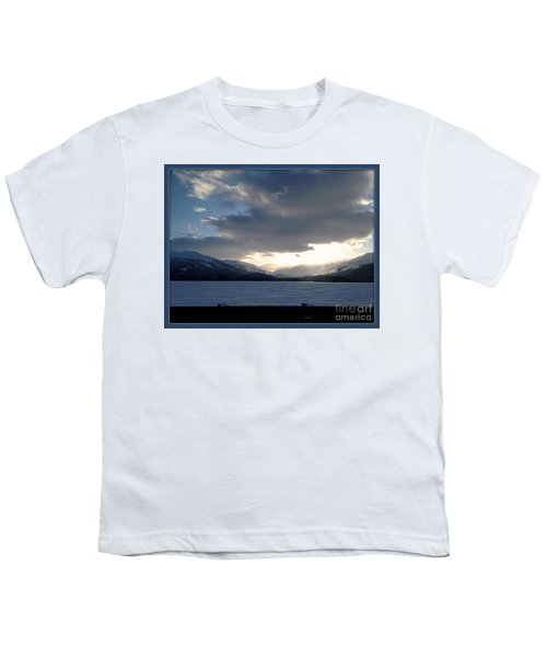 Youth T-Shirt featuring the photograph Mckinley by James Lanigan Thompson MFA