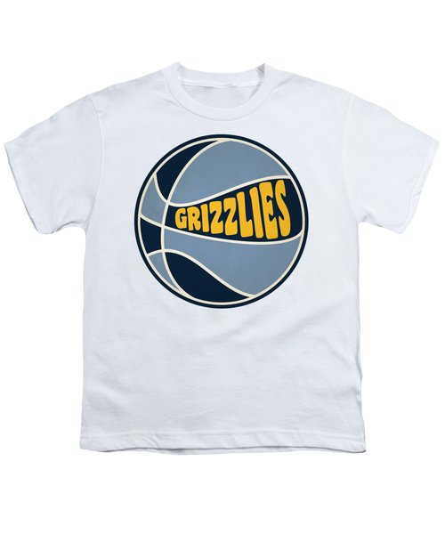 Memphis Grizzlies Retro Shirt Youth T-Shirt