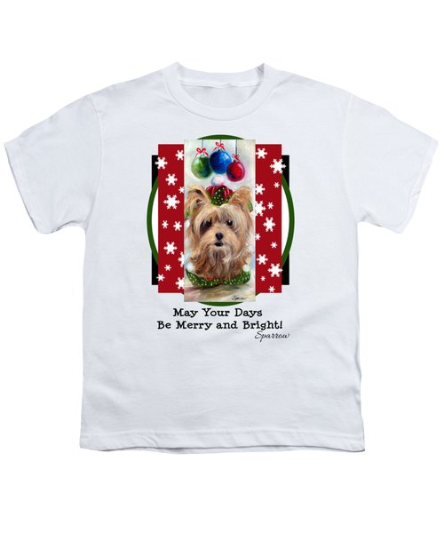 Merry And Bright Youth T-Shirt