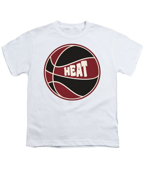 Miami Heat Retro Shirt Youth T-Shirt