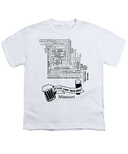 Micro Brew Missouri Youth T-Shirt