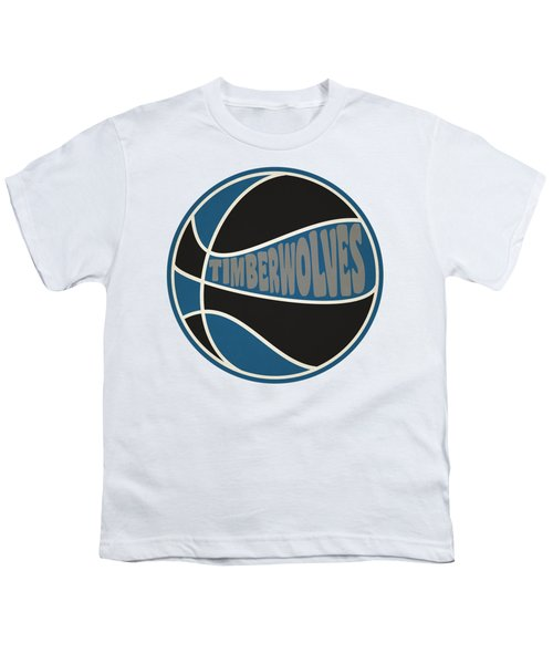 Minnesota Timberwolves Retro Shirt Youth T-Shirt
