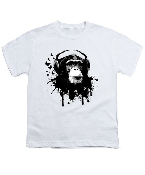 Monkey Business Youth T-Shirt by Nicklas Gustafsson