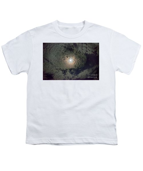 Moon And Clouds Youth T-Shirt