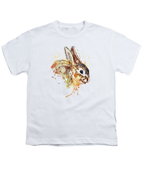 Mr. Bunny Youth T-Shirt by Marian Voicu