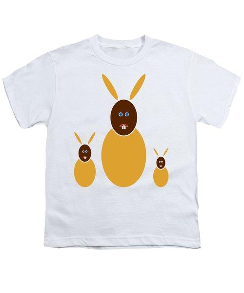 Mustard Bunnies Youth T-Shirt
