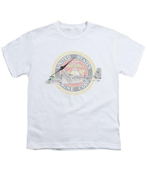 Mv-22bvmm-261 Youth T-Shirt