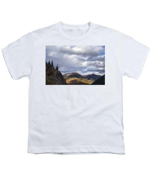 Peeking At The Peaks Youth T-Shirt