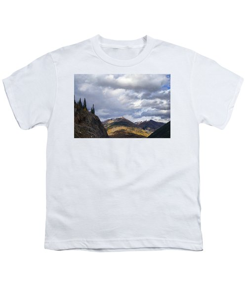 Peeking At The Peaks Youth T-Shirt