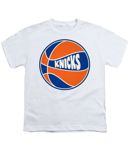 New York Knicks Retro Shirt Youth T-Shirt by Joe Hamilton